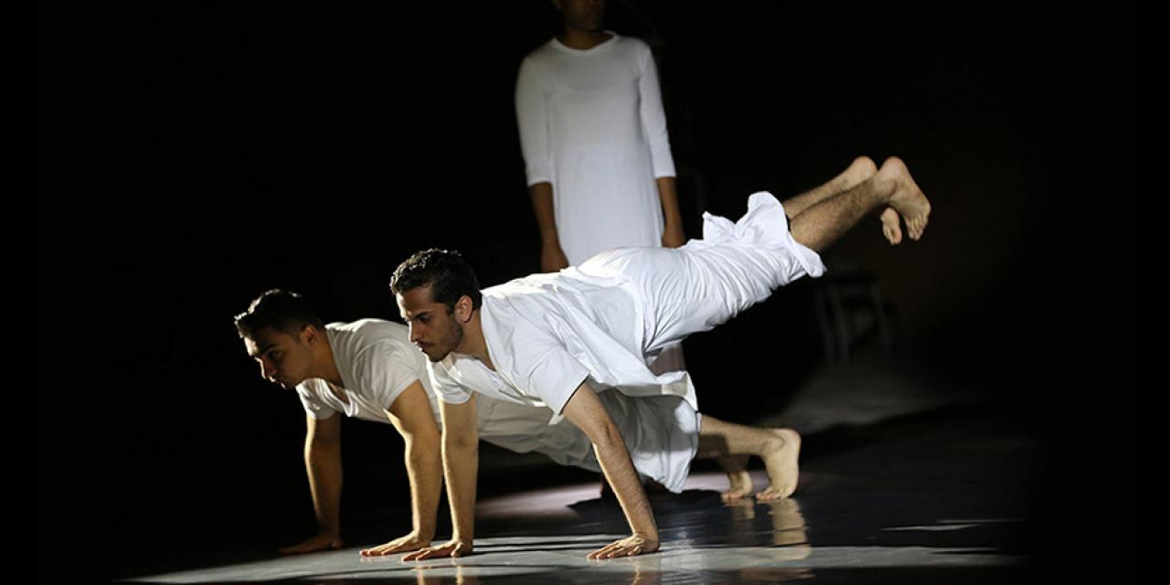 Choreography & Performance Spring 2019 Heroes performed at NYUSH