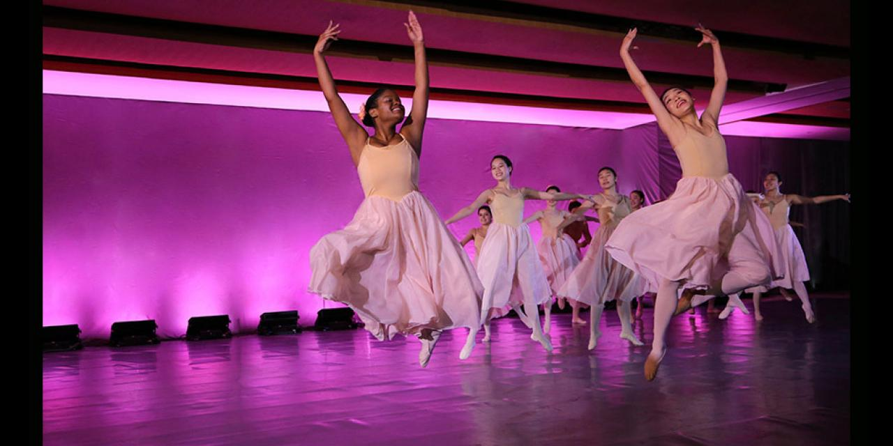 Classical Ballet Spring 2019 The Nutcracker-Waltz Of The Flowers performed at NYUSH