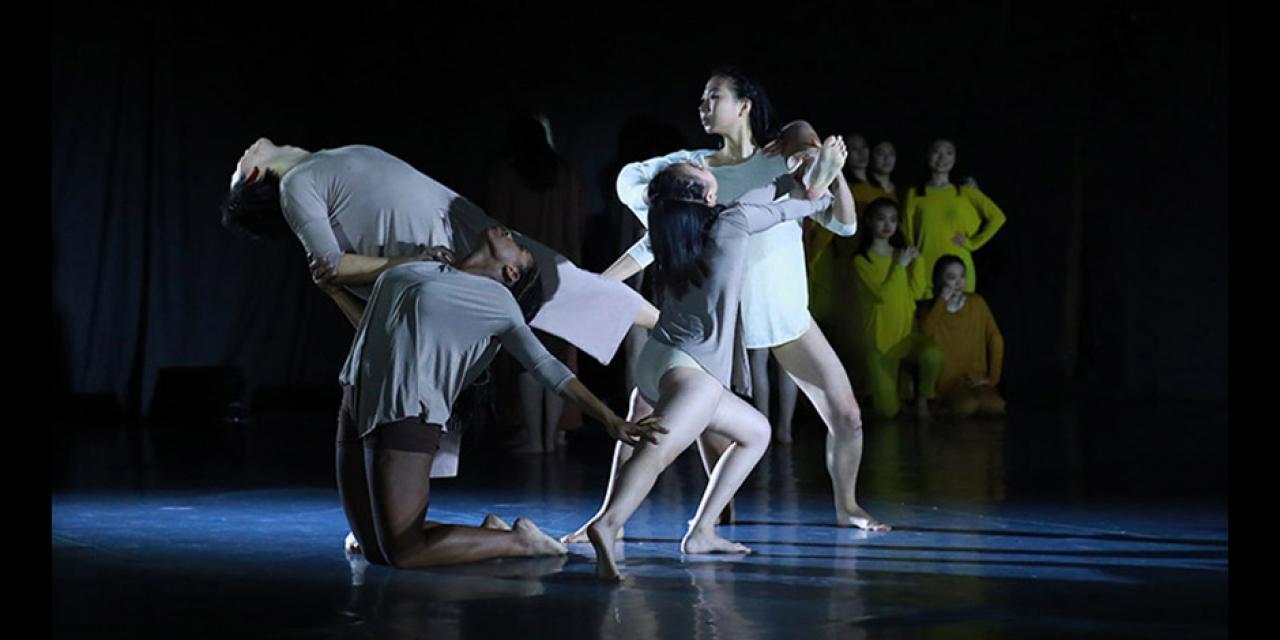 Contemporary Dance Fall 2018 Avenue of Hope performed at NYUSH