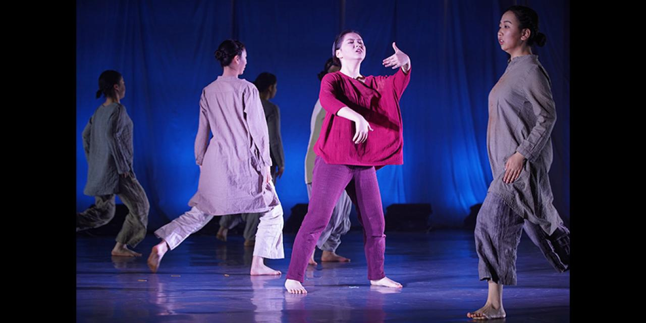 Contemporary Dance Fall 2019 On the Border performed at NYUSH