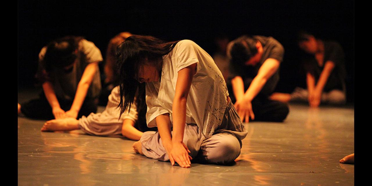 Contemporary Dance Spring 2018 Tide performed at Power Station of Art