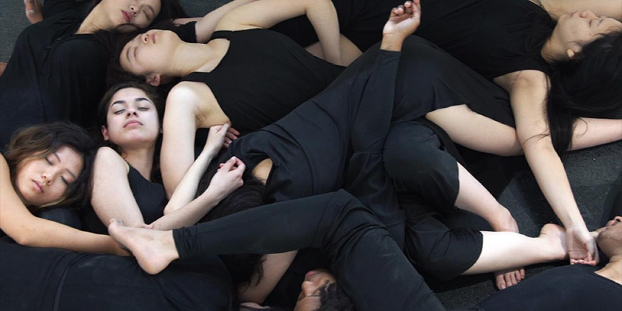 Choreography & Performance Spring 2019 Bells & Drums performed at TANK Shanghai