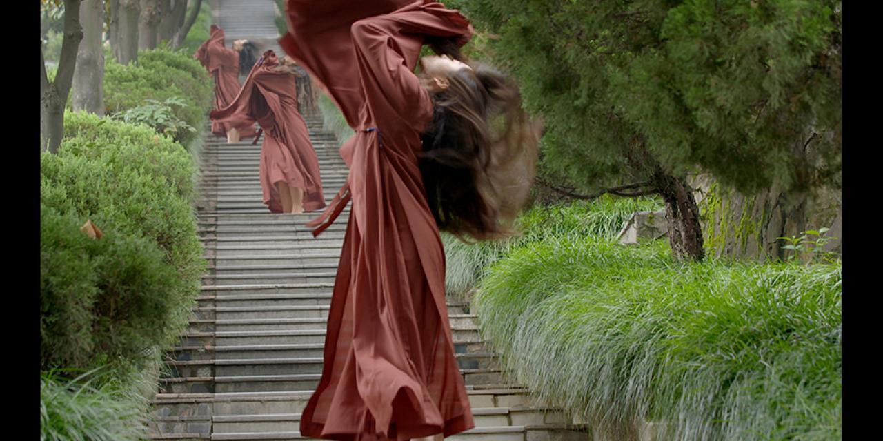 Dance for Camera MONK filmed at Nanshan Temple