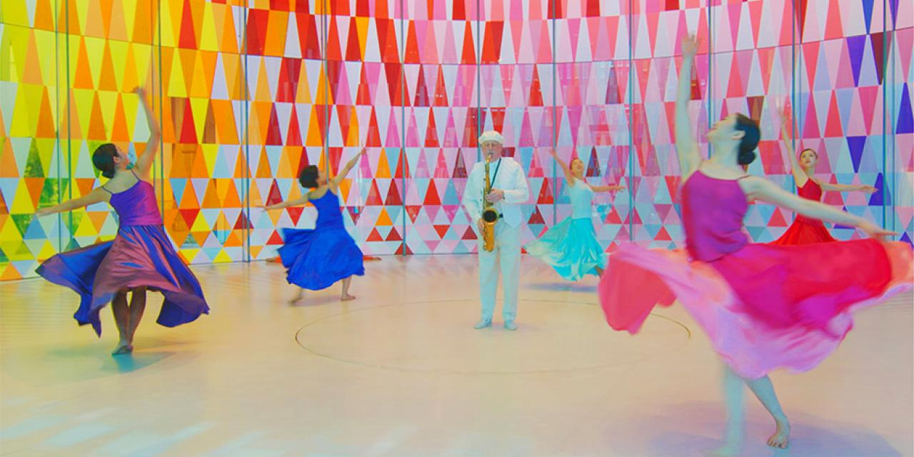 Dance for Camera The Leaving Room filmed at the Glass Museum