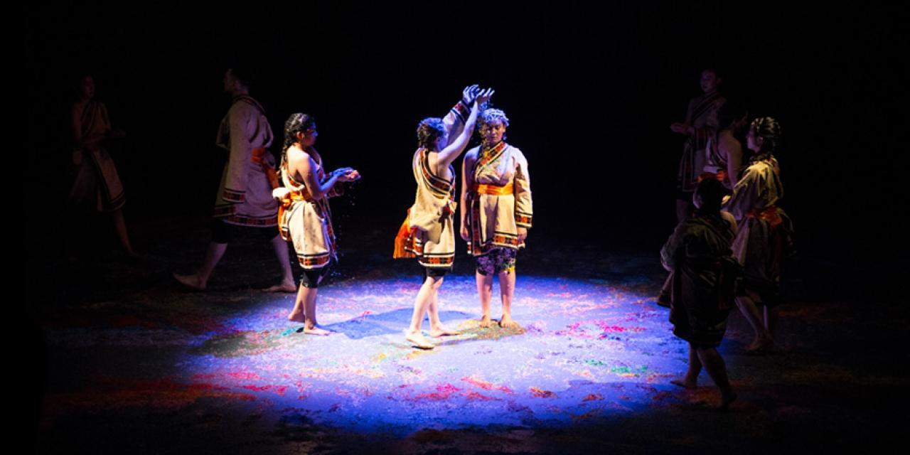Chinese Minority & Folk Dance Spring 2018 Mandala performed at the Power Station of Art