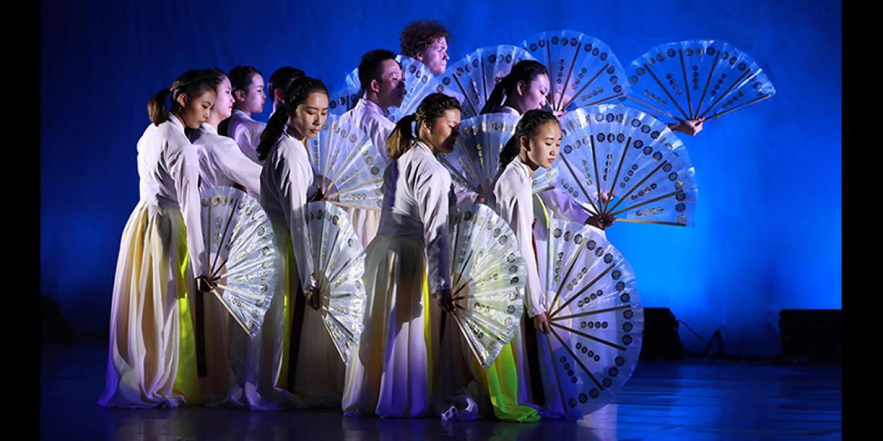 Minority & Folk Dance (Northern China) Fall 2019 Cranes performed at NYUSH