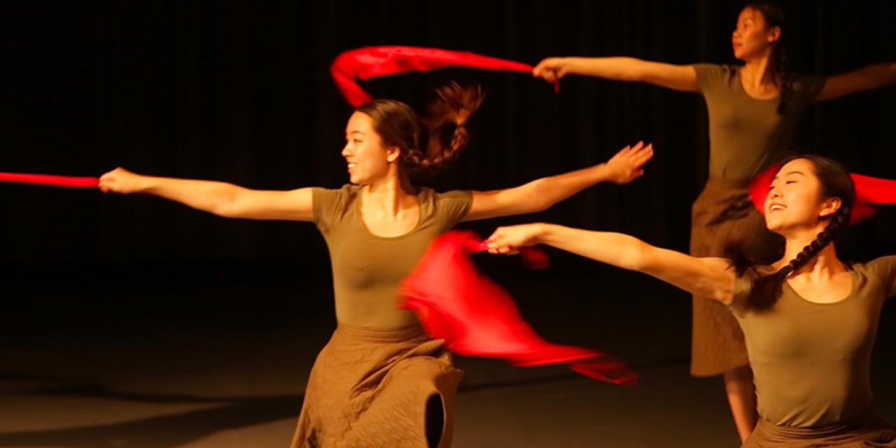 Dance for Camera 习学.学习 performed by Contemporary Dance Spring 2018 at the Power Station of Art